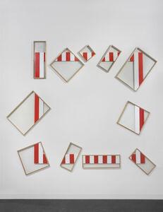 Daniel Buren, 'A Frame in a Frame in a Frame, N° 39 Red - Aka', 1988