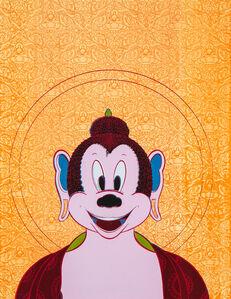Tenzing Rigdol, 'When Mickey got enlightened', 2018