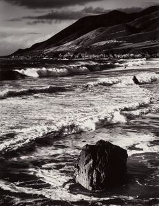 Morley Baer, 'Winter Surf, Garrapata', 1966