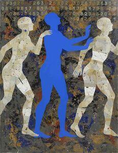 Igor & Marina, 'Walkers VIII (in Blue)', 2009