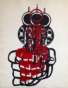 "Aldo Valdez, 'Street Art Mixed Media Painting ""Bang"" Graffiti Style California Latino Artist', 2000-2009"