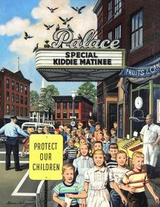 Stevan Dohanos, 'Protect Our Children', 20th Century