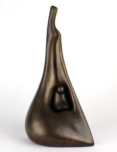 Aharon Bezalel, 'Rare AP Aharon Bezalel Israeli Modernist Mother and Child Bronze Sculpture Suite', 1980-1989