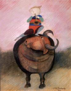 Graciela Rodo Boulanger, 'The Trumpet', 1984