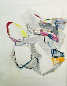Diana Greenberg, 'Folded Sculpture, Pink and Yellow ', 2020
