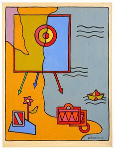 Alexis Akrithakis, 'The Seaside', 1967