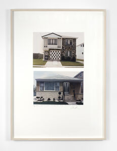 Dan Graham, 'House, Staten Island, New York City; House, Perth, Australia, 1978', 1995