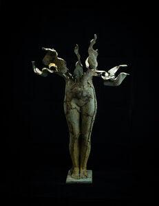 Sergii Shaulis, 'Fateful Flowers Nr. 1 (female)', 2020