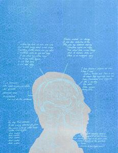 Tenzing Rigdol, 'Anatomy of my mind', 2018