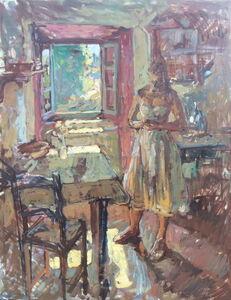 Ben Fenske, 'Afternoon in the Kitchen', 2018