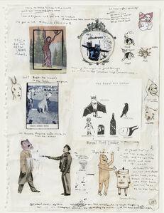 Marcel Dzama, 'Untitled (sketchbook page 11) ', 2002