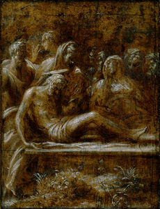 Francesco Mazzola, called Parmigianino, 'The Entombment of Christ', 1525
