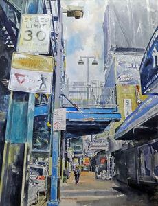 Tony Armendariz, 'Up and Down River Avenue', 2017