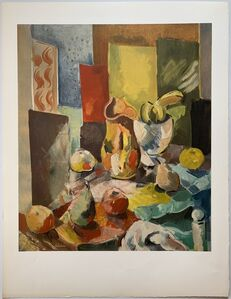 Charles Dufresne, 'Nature Morte a la Nappe de Couleur', 1936 / Printed 1971