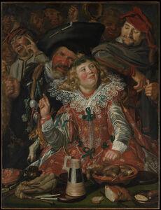 Frans Hals, 'Merrymakers at Shrovetide', ca. 1616–1617