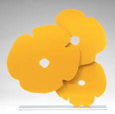 Donald Sultan, Yellow Poppies