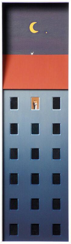 Volker Kühn, 'Kisses in the Night ', Mixed Media, Mixed media, Plus One Gallery