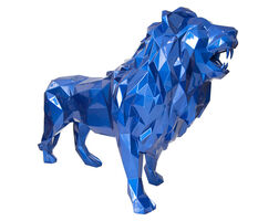 Richard Orlinski, 'Lion - Bleu Mick', 2020