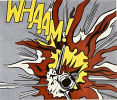 Roy Lichtenstein, 'Whaam! (diptych)', 1988