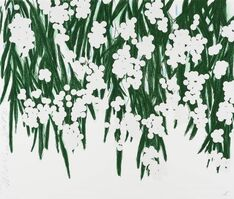 Donald Sultan, 'Mimosa, April 30, 2015', 2015