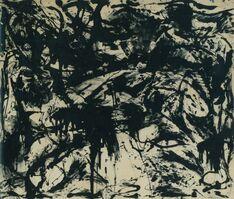 Jackson Pollock, 'Number 3', 1952