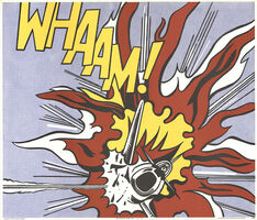 Roy Lichtenstein, 'Whaam!', 1964