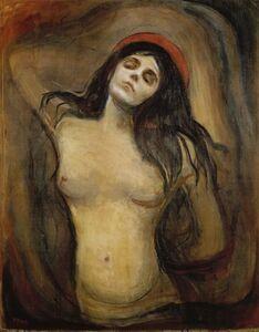 Edvard Munch, 'Madonna', 1894-1895