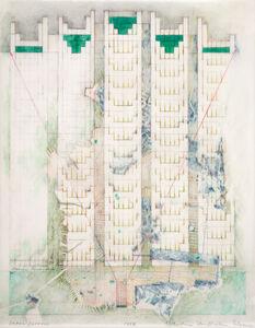 Barbara Stauffacher Solomon, 'Urban Furrows', 1987
