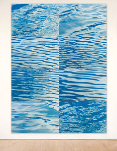 Ray Charles White, 'Surface Tension - California Blue', 2004