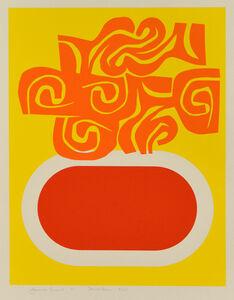 Harold Krisel, 'Scroll Form', 1970