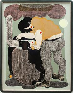 Alex Feuerstein, 'Regentonne I'