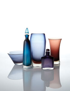 Venini, 'Two vases, two decanters, and a bowl', 1946-1965