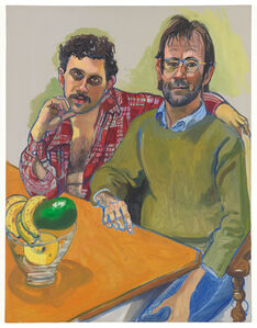Alice Neel, 'Geoffrey Hendricks and Brian', 1978