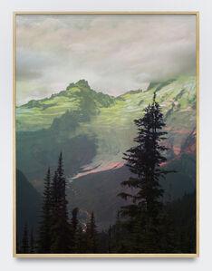 Peter Funch, 'Mt. Rainier, Emmons Glacier From Sunrise', 2015