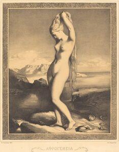 Théodore Chassériau, 'Venus Anadyomene', ca. 1841/1842