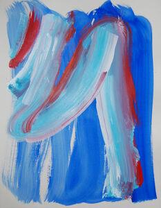 Elisabeth Lalouschek, 'Blue Motion', 2001