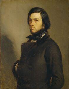Jean-François Millet, 'Portrait of a Man', ca. 1845