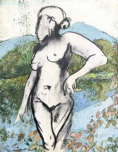 Marcie Wolf-Hubbard, 'Lady at Twin Peaks'