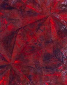 Mette Tommerup, ' Garden of Ur (Fluorescent Red & Black)', 2019