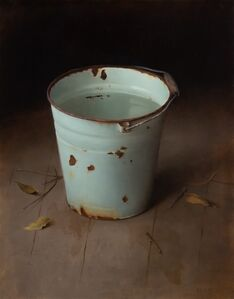 Dana Zaltzman, 'Bucket and Leaves', 2020