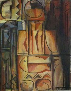 Hugo Sartore, 'Constructivo', ca. 1958