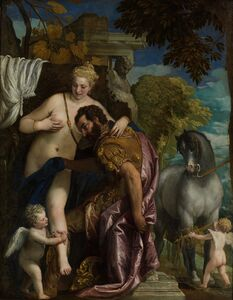Paolo Veronese, 'Mars and Venus United by Love', ca. 1570-1579