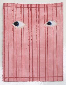 James Rielly, 'Pink eyes', 2020