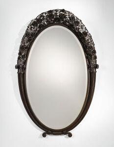 Edgar Brandt, 'A Monumental and Rare Mirror', circa 1921