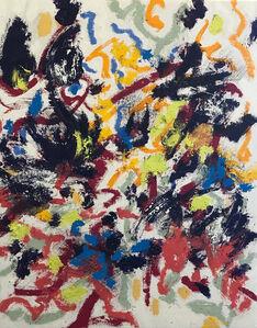 William Anastasi, 'Blind Painting', 2019