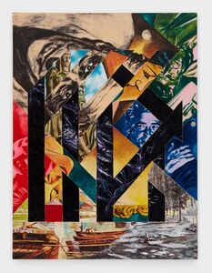Tadanori Yokoo, 'Off the Pavement,Off We Go!', 1988