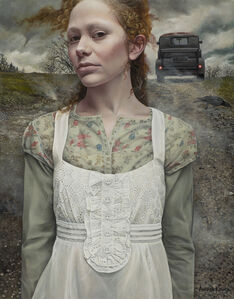 Andrea Kowch, 'Gust (Limited Edition Hand Signed Print)', 2019