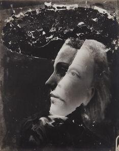 Dora Maar, 'Untitled (double-exposed portrait)', ca. 1936