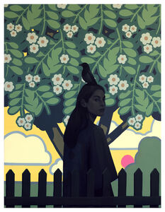 Bezt (Etam Cru), 'Behind the Fence', 2020