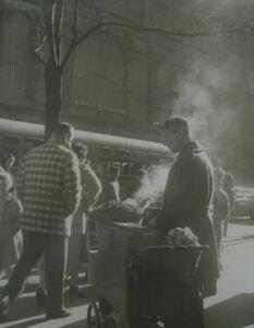 John Albok, 'Chestnut Man on 5th Avenue', 1947